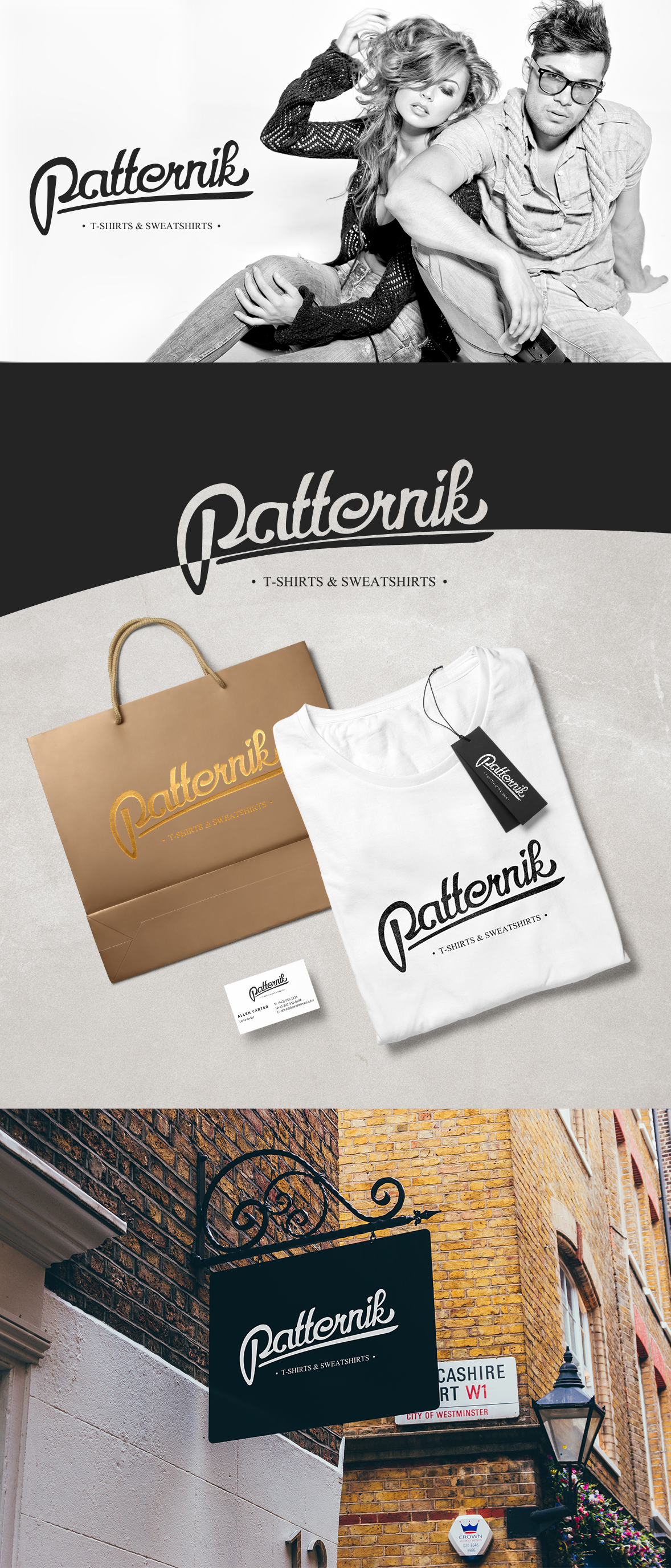 Clothes brand Patternik